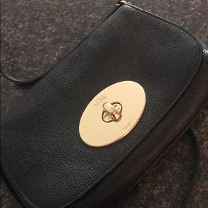 Authentic black Coach purse